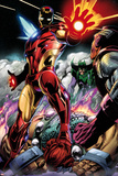 Iron Man/Thor No.2: Iron Man Standing Print by Scot Eaton