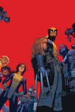 Wolverine & The X-Men No.1 Cover: Wolverine, Kitty Pryde, Beast Posters av Chris Bachalo