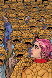 Ff 6 Cover: Thing, Ms. Thing Fotografía por Michael Allred
