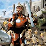 Invincible Iron Man No.506 Cover: Iron Man Posters av Salvador Larroca