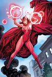 Avengers Vs. X-Men No.0: Scarlet Witch Flying with Energy Plakaty autor Frank Cho
