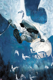 Moon Knight No.8 Cover - Moon Knight Jumping Prints by Alex Maleev