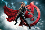 The Avengers: Age of Ultron - Thor Affiche