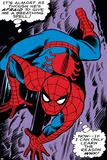 Marvel Comics Retro: The Amazing Spider-Man Comic Panel, Crawling Posters