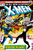 Marvel Comics Retro: The X-Men Comic Book Cover No.97, Havok, My Brother-My Enemy! Print