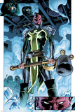 Fear Itself No.1: Panels with Red Skull Prints by Stuart Immonen