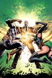 New Avengers No.22 Cover: Ms. Marvel, Iron Fist, and Norman Osborn Fighting Posters by Mike Deodato