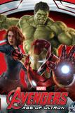 The Avengers: Age of Ultron - Iron Man, Black Widow, and Hulk Plakater