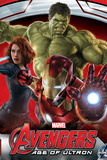 The Avengers: Age of Ultron - Iron Man, Black Widow, and Hulk Posters