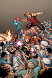 Generation Hope No.7 Cover: Hope Summers, Teon Macik, Laurie Tromette, Gabriel Cohuelo, IdieOkonkwo Posters by Salvador Espin