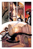 Spider-Island: The Amazing Spider-Girl No.1: Spider-Girl Swinging and Screaming through the City Posters by Pepe Larraz