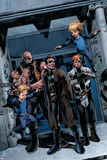 X-Factor No.200 Group: Richards, Franklin, Richards, Valeria, Madrox, Strong Guy and Shatterstar Prints by Esad Ribic