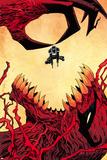 Venom 33 Cover: Venom, Toxin Prints by Declan Shalvey