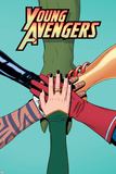 Young Avengers 12 Cover: Avengers (General) Posters by Jamie McKelvie