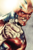 Iron Age No.1: Captain Britain Posing Photo by Lee Weeks