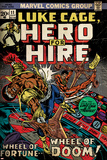 Marvel Comics Retro: Luke Cage, Hero for Hire Comic Book Cover No.11 (aged) Print
