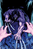 Wolverine & The X-Men: Alpha & Omega No.2 Cover: Wolverine Crouching Posters by Mark Brooks