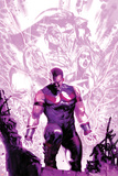 New Avengers Annual No.1 Cover: Wonder Man Walking with Energy Affiches par Gabriele DellOtto