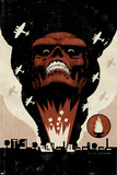 Red Skull No.1 Cover: Headshot of Red Skull Prints by David Aja