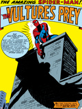 Marvel Comics Retro: The Amazing Spider-Man Comic Panel, the Vulture's Prey Photo