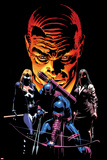 What If Dark Reign No.1 Cover: Mockingbird, Hawkeye, and Norman Osborn Posing Prints by Mike Deodato