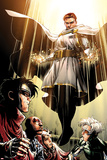 Avengers: The Childrens Crusade No.7: Von Doom and Victor Poster by Jim Cheung