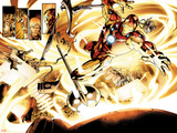 Fear Itself No.6: Iron Man Flying Posters by Stuart Immonen
