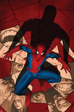 Fear Itself: Spider-Man No.1 Cover: Spider-Man Crouching Affiches par Marko Djurdjevic