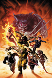 X-Men No.23 Cover: Psylocke, Storm, and War Machine Posters by Adi Granov