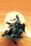 Thunderbolts No.158 Cover: Ghost, Juggernaut, Satana, Mach V, and Man-Thing Photo by Kev Walker