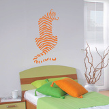 Crouching Tiger Wall Decal