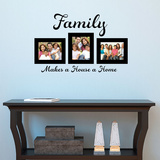 Family Home Wall Decal