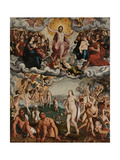 The Last Judgement, 1551 Giclee Print by Pieter Jansz. Pourbus