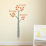 Lead By Inspiration Wall Decal