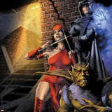 Heroes For Hire No.9 Cover: Elektra and Shroud Prints by Jay Anacleto