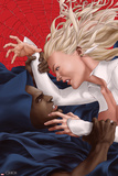 Spider-Island: Cloak & Dagger No.2 Cover: Cloak and Dagger Fighting Posters by Mike Choi