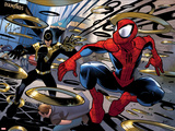 Ultimate Spider-Man No.150: Spider-Man Jumping Prints by David LaFuente