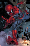 Heroes For Hire No.6: Spider-Man Swinging Prints by Brad Walker
