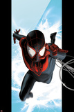 Ultimate Spider-Man No.1 Cover: Spider-Man Swinging Posters by Kaare Andrews