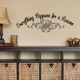 Everything Happens Wall Decal