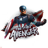 The Avengers: Age of Ultron - Captain America - The First Avenger Poster