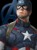 The Avengers: Age of Ultron - Captain America Plakater
