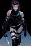 Uncanny X-Force No.3: Psylocke Walking Prints by Jerome Opena