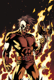 Dark Wolverine No.90 Cover: Darken in Flames Prints by Yanick Paquette
