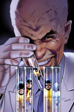 Uncanny X-Men No.531 Cover: Lobe, Beast, Jean Grey, Angel, Cyclops, and Iceman Posing Posters by Greg Land