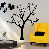 Tilted Tree Wall Decal