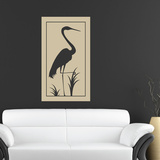 Crane Frame Wall Decal
