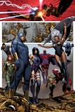 Uncanny X-Men No.4: Cyclops, Storm, Psylocke, Magneto, Hope Summers, Namor, Magik, Colossus, Danger Print by Brandon Peterson
