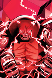 Uncanny X-Men No.542: Juggernaut Transforming Prints by Greg Land