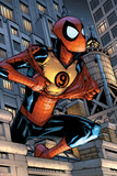 Marvel Adventures Spider-Man No.9 Cover: Spider-Man Jumping Posters by Patrick Scherberger